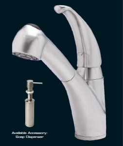 KPS3029 All Stainless Steel Shasta Faucet