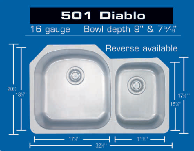 Eclipse 501 Diablo Sink