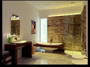 Unique-Stone-Bathroom-design-by-arkiden