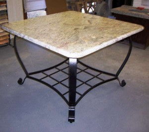 White Springs Granite Table 2