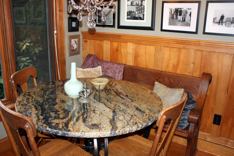 Granite Kitchen Table Home design and Decorating