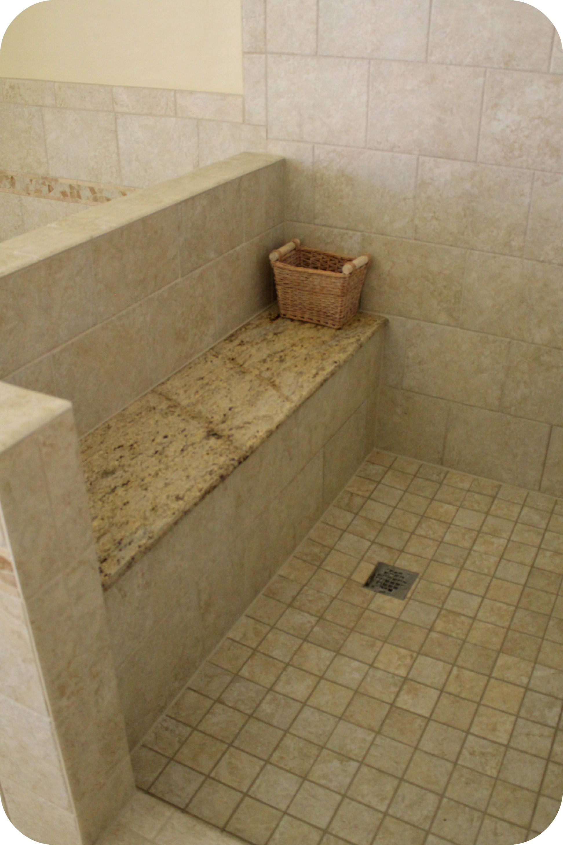 mbr project new shower bench with granite top